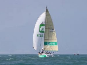 车车号再度出征中国杯帆船赛